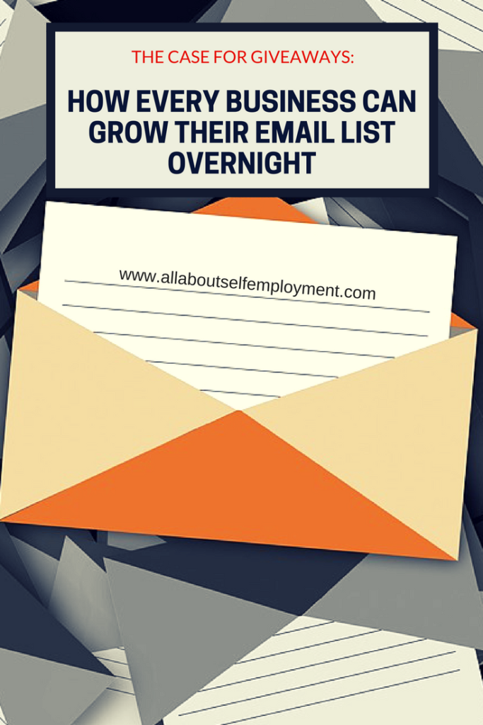 The Case for Giveaways: How Every Business Can Grow An Email List Overnight