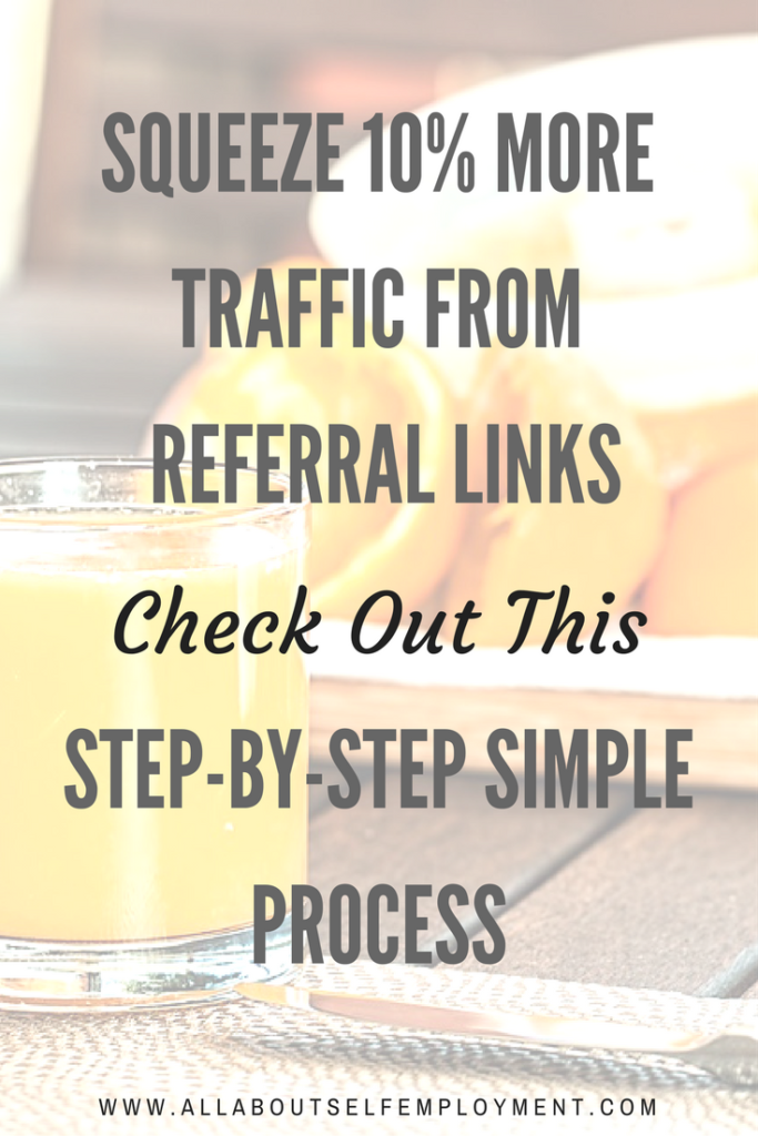 Increase Referral Link Traffic By 10% Using Referral Links
