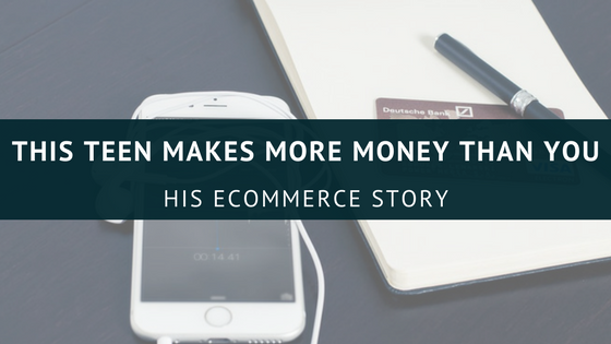 Make $1300 with Shopify Ecommerce