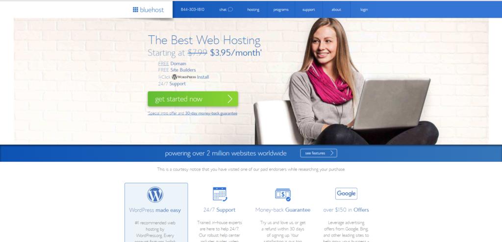 Best Web Hosting Bluehost