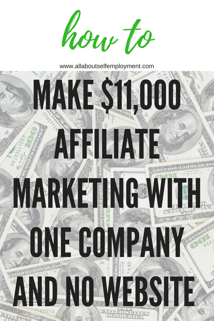 how this affiliate marketing expert made from one company  this affiliate marketing expert made 11 000 from one company no website or