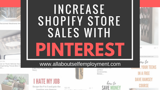 Increase Shopify Store Sales with Pinterest