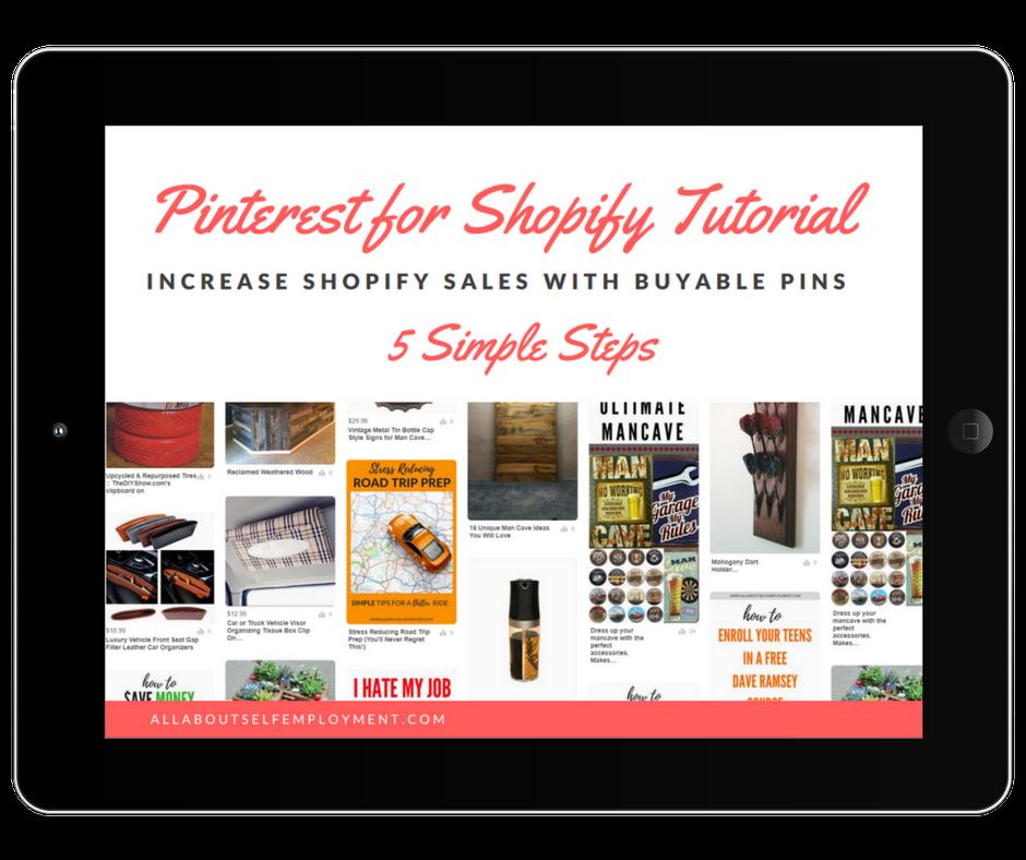 Pinterest for Shopify Freebie