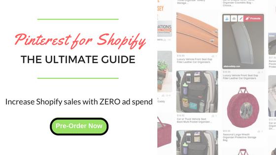Pinterest for Shopify Ultimate Guide Ebook Header