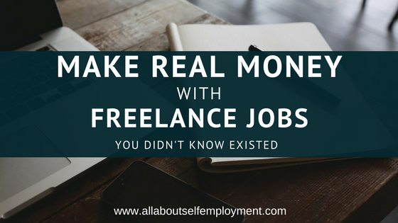 Make REAL Money with Freelance Jobs You Didn't Know Existed